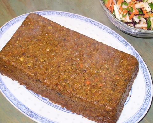 pain aux lentilles et carottes