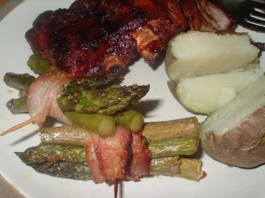 fagots d'asperges ou fèves vertes