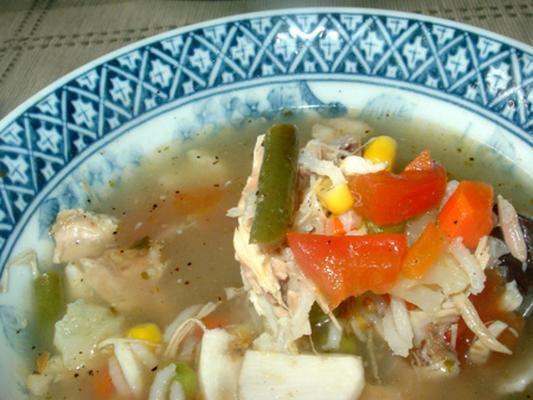 soupe, légume ou poulet-légume (sans sel ajouté)