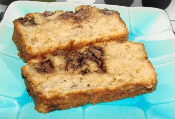 nutella et pain à la banane