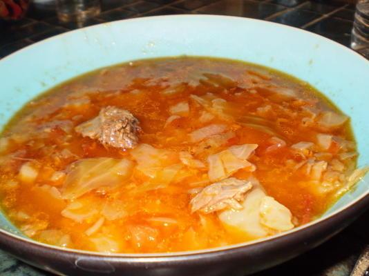 soupe au chou de ronnie