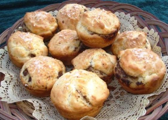 muffins surprise au pesto