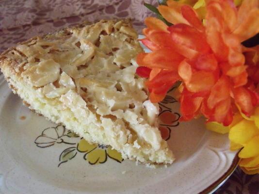 toscakaka / tosca cake (gâteau aux amandes suédois)