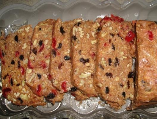 le gâteau aux fruits non cuit (pas de cuisson au four, pas de cuisson) de granmama