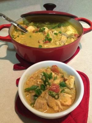 poisson au curry facile à la noix de coco