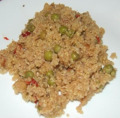 quinoa au romarin et aux noix