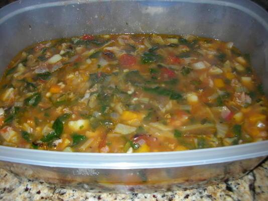 soupe de délices toscans