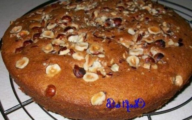 gâteau à la cannelle et au nutella