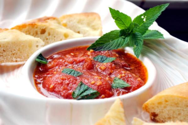 salsa libanaise à la tomate (banadurah harrah)