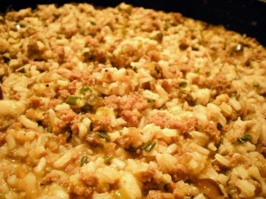 casserole de riz cajun