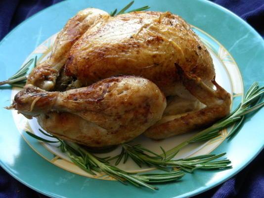 poulet rôti aux agrumes et au cumin