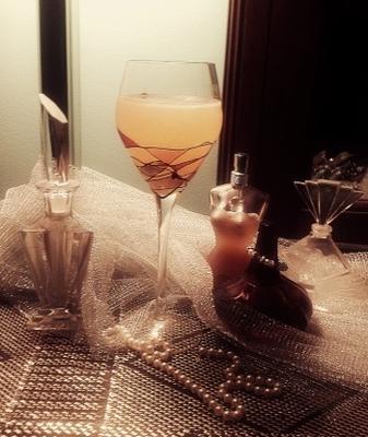cocktail mousseux au citron meyer