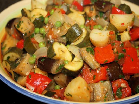 civet de légumes (à base de ratatouille)