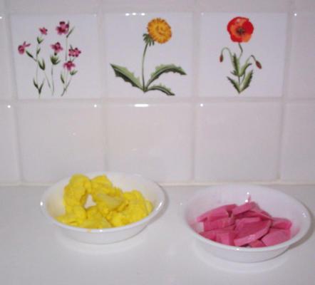 pickles du Moyen-Orient deux recettes navet et chou-fleur