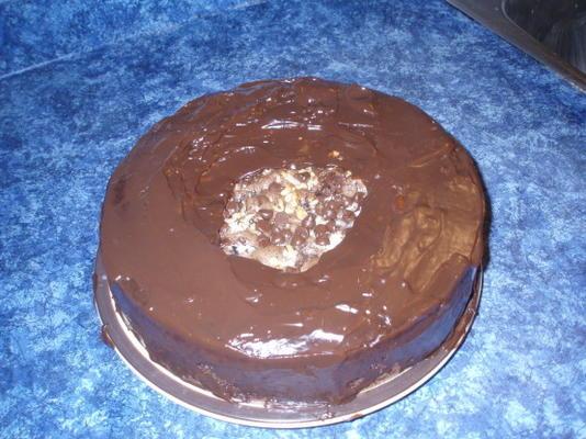gâteau au chocolat plus sain