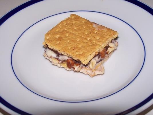 sandwichs au chocolat et aux noisettes
