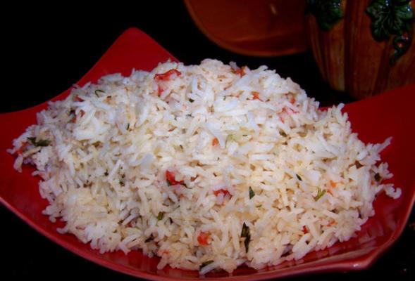 riz mexicain si simple