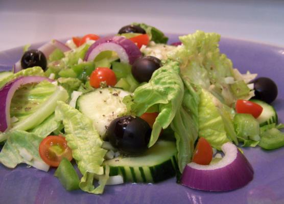 la salade grecque de kenneth