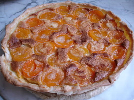tarte aux abricots à la française