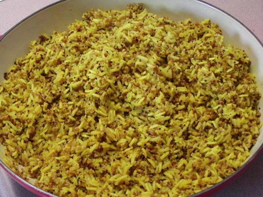 pilaf de riz au boulgour