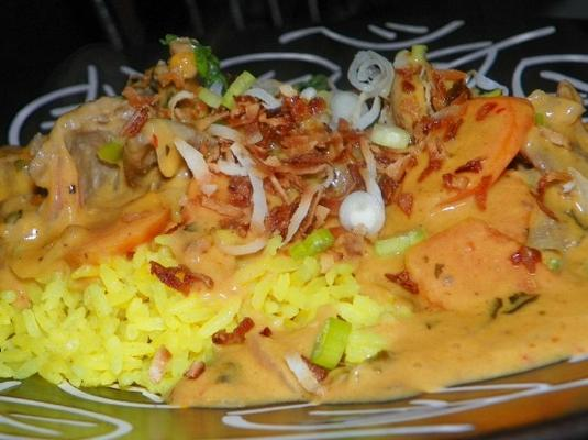 riz de coco jaune