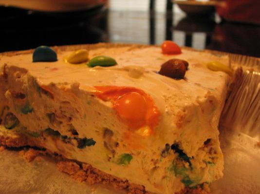 tarte au mandma glacée (ou morceaux de caramel au beurre, biscuits au beurre, etc.) pas de cuisson