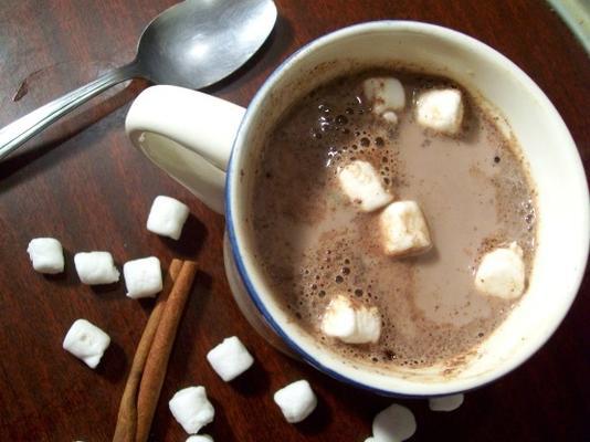 le chocolat chaud au cinna de maman