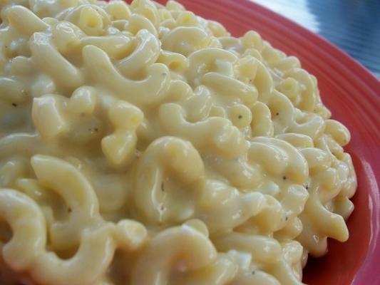 macaronis au fromage à la mode