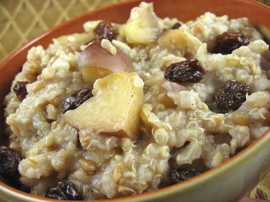 céréales chaudes multi-grains (mijoteuse)