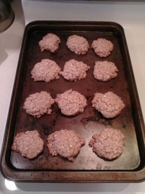 lever et briller les biscuits sains du petit déjeuner
