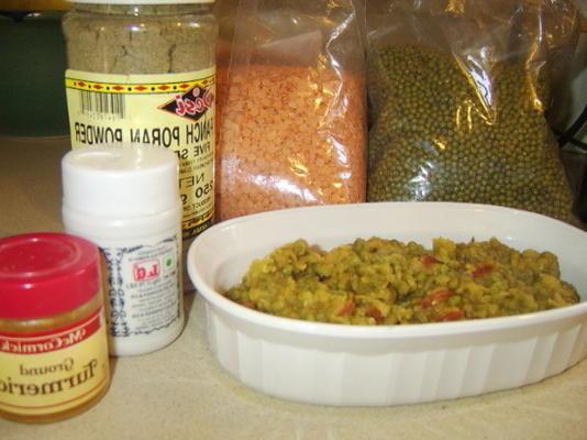 lentilles au panch phoran (dal)