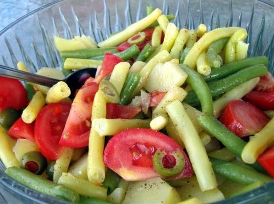 salade végétalienne niçois