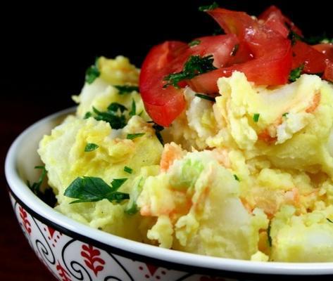 salade de pommes de terre d'inspiration sud-africaine