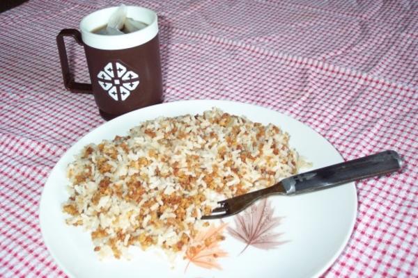 riz pilaf, ingrédient secret