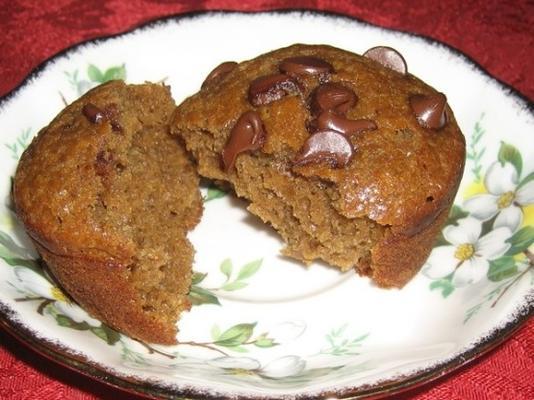 muffins aux chips d'espresso