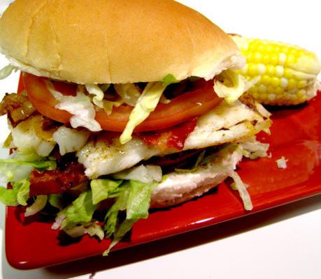 sandwichs au poisson blt
