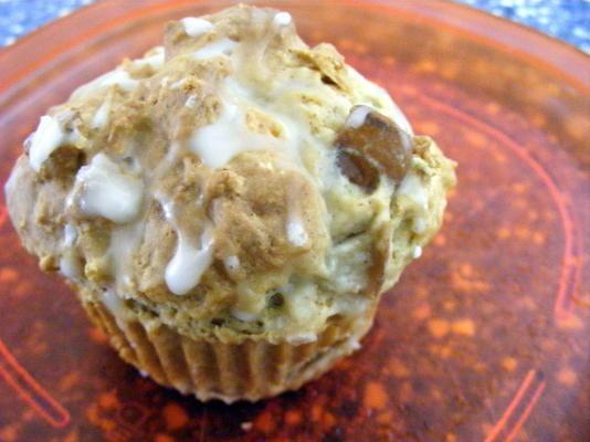 muffins glacés à la poire (observateurs de poids)