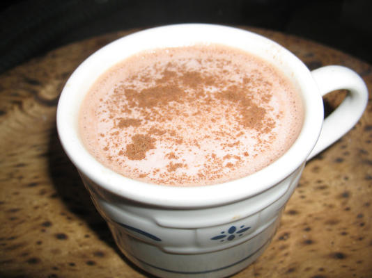 simple chocolat chaud au miel
