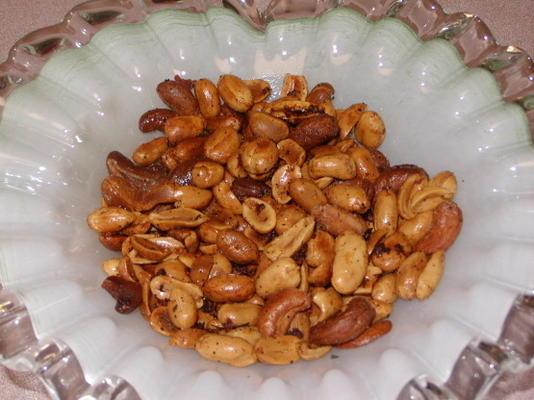 cacahuètes grillées au chili