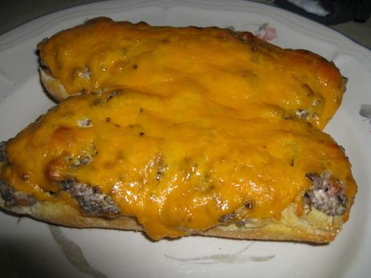 pain cheeseburger facile