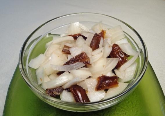salade d'oignon et de datte sud-africaine
