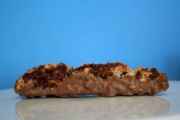 biscotti au goût de noël (biscotti au chocolat et à la noix de coco)