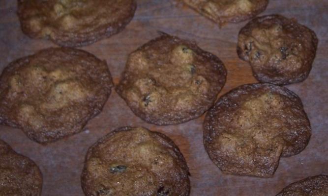 biscuits à l'avoine cuits doucement