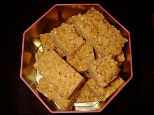 friandises aux céréales de riz croustillantes parfaites (aromatisées aux fruits)