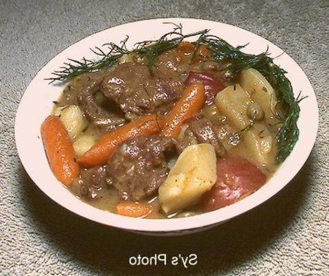 ragoût de berger australo-irlandais par sy