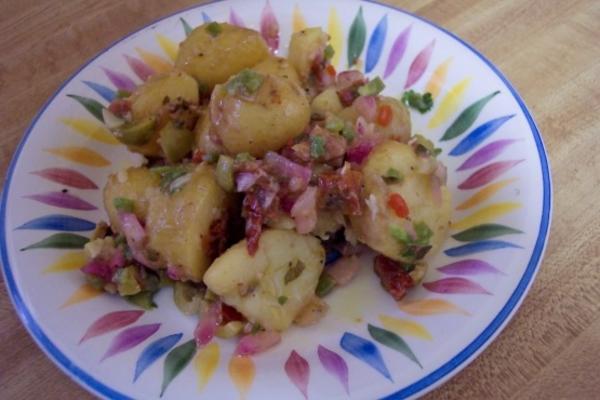 pommes de terre nouvelles marinées - batatinha em conserva