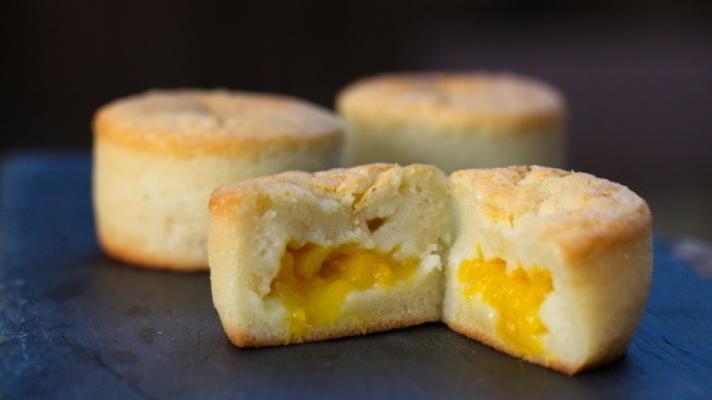 beurre mochi fourré à la mangue