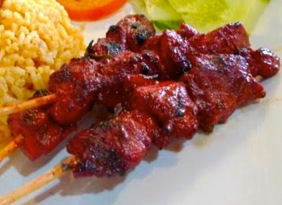 apéritifs satay de poulet tandoori (facile)