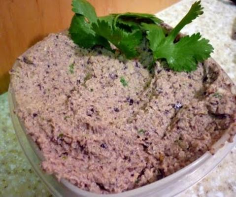 meilleure trempette crémeuse au houmous d'olive kalamata