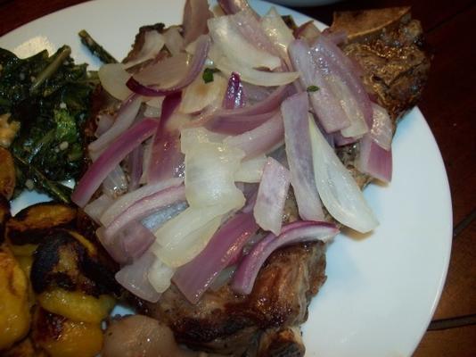 steak et oignons à la belize